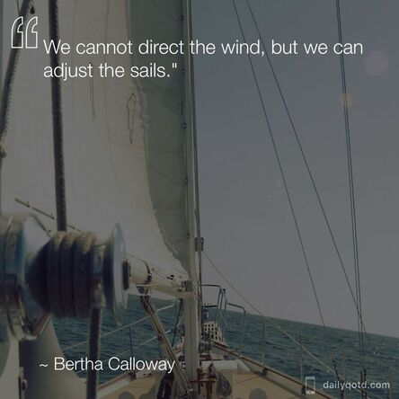 Bertha Calloway quote
