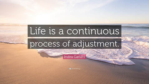 Indira Ghandi adjustment quote